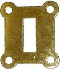 Western Electric Switch Hole Cover - Brass   B9946