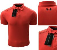Under Armour UA Threadborne Outer Glow Golf Polo Shirt RRP£65 SMALL ONLY