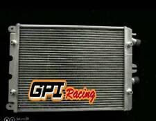 Fit Ferrari 430 F430 4.3L w/o Sensor hole 2006-2009 2007 2008 aluminum radiator
