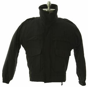 FLYING CROSS Men's Black Gore-Tex Jacket 78180 Sz Small-Short $476 NWT