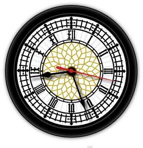 Big Ben Wall Clock - London UK Great Britain Modern - GREAT GIFT