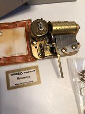 """Thorens Music Box Mechanism W/Comb Switzerland """"Humoresque"""""""