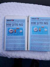 2 Stück VISATON  Frequenzweiche  2 Weg   HW 2/70 NG  4 Ohm