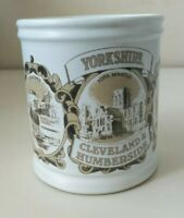 Vintage Cadburys Denby Stoneware Regional Yorkshire York 1/2 pint Mugs Cups