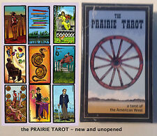 NEW in box: the PRAIRIE TAROT - a tarot of the American West