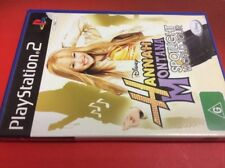 "Hannah Montana Spotlight World Tour - PS2 ""Australia"""