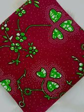 African Cotton Print Fabric Ankara Wax Beautiful Bright *FREE P&P* [6 YARDS]