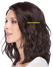 BOB WAVY LAYERED DARK BROWN FULL LACE FRONT WIG HEAT OK HAIR PIECE #4