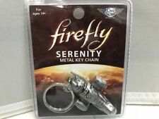Firefly Serenity Metal Key Chain Ship replica by Qmx