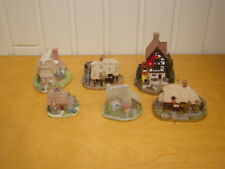 6 Collectable Lilliput Lane Cottages Collectors Club Springbank Four Seasons