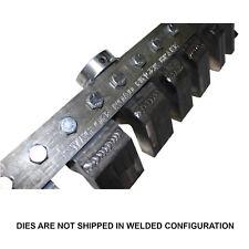 SWAG Finger Brake Gooseneck Dies That Fit The HF 20 and 12 Ton Finger Brake Only