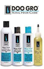 Doo Gro Mega Thick Anti-Thinning Shampoo, Conditioner, Growth Lotion & Oil (Set)