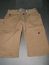 New Ecko Khaki Brown Cargo Pants Mens Size 30 slim Straight Casual Pants