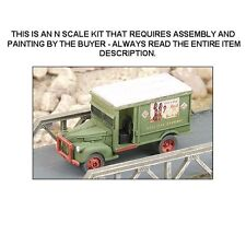 """1940's CHEVROLET """"REA"""" DELIVERY TRUCK KIT - N SCALE KIT - GHQ 56015"""