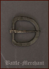 Medieval belt buckle, ap. 29mm width, hand-forged steel LARP SCA Reenactment