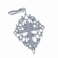 Authentic blessed sterling silver 925 certificated Russian Orthodox cross charm