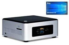 Intel Nuc Mini PC bis 2,4 GHz / 512GB SSD / 8GB RAM / USB 3.0 / HDMI / Win10Pro