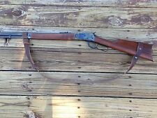 """1 1/2"""" Leather Rossi 92 Gun Sling   NO DRILL SLING for The Rossi 92 Rifle Only"""