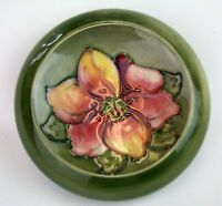 Stunning Moorcroft 1950's Clematis Pattern Small Bowl. Made in England!
