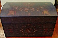 NEW Bob's Boxes (ANTIQUE TRUNK BOX) 5 Piece Gift Nesting Boxes