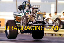 "Dave Hough ""Nanook"" 1960s AA/Fuel Altered ""OFF the GROUND"" PHOTO! #(3)"