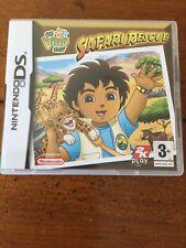 Go, Diego, Go: Safari Rescue (Nintendo DS, 2007) - versión estadounidense