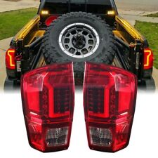 Winjet OE Factory Fit For 2016-2018 Toyota Tacoma LED Brake Tail Lights Red