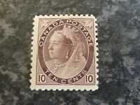 CANADA POSTAGE STAMP SG163/4 TEN CENTS LIGHTLY MOUNTED-MINT
