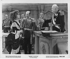 THE MERRY WIDOW original MGM b/w lobby publicity still photo JEANETTE MACDONALD