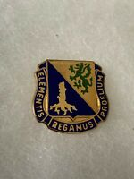 Authentic US Army Chemical Corps School Unit DI DUI Crest Insignia S-21