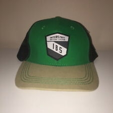 Interstate Battery Systems IBS Auto Racing Cars Snapback Hat Adjustable Cap