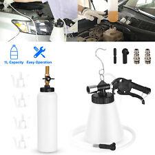 1L Pneumatic Brake Fluid Bleeder Kit Car Air Extractor Clutch Brake Bleeding