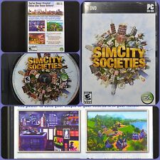 SimCity Societies  (PC, 2007) Case - Manual - Key Included