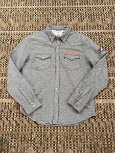 NFL Denver Bronchos Levi's Button Up Shirt Size Men's M