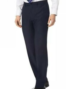 Charles Tyrwhitt classic fit British luxury suit trousers Size 38 RRP £120 E147