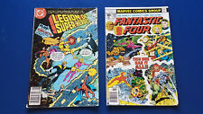 Legion of Super Heroes  vol 33 No.278 august 1981 Fantastic Four vol 1 no.183