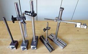 5 Stück Magnet Messstativ Messständer Messuhr Stativ Messuhrhalter Meßuhrständer