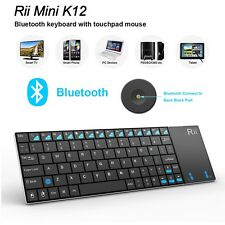 Rii K12 Bluetooth Touchpad mini keyboard for raspberry pi 3 Amazon Fire stick