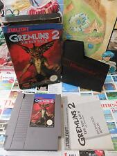 Nintendo NES:Gremlins 2 [TOP SUNSOFT & 1ERE EDITION] COMPLET - Fr