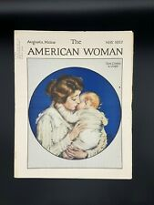 Vintage The American Woman Magazine May 1922,  Advertising - Stories & Crafts