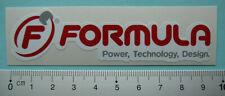 Formula Sticker Aufkleber Mountainbike Enduro Downhill Freeride (FOR004)