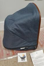 BRAND NEW Bugaboo Donkey Weekender blue hood/sun canopy limited edition