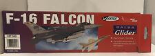 Estes F-16 Falcon Balsa Glider West Wing EST 5001 Nib