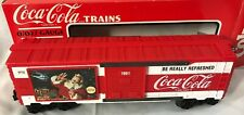 K-Line Trains ~ Coca-Cola 1991 Christmas Boxcar ~ #K644702 NEW IN BOX
