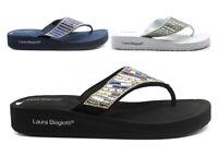 Sandali scarpe da donna bassi Laura Biagiotti 6252 infradito mare doccia piscina
