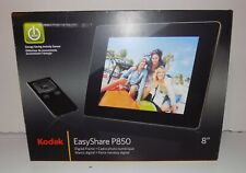 Kodak EasyShare P850 digital frame NEW sealed in box power adapter remote stand
