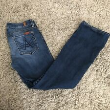 7 Seven for all mankind Buckle Low A pocket Flare Lexie Womens Jeans 29