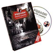 Squash Dvd & Gimmicks By David Loosley - Alakazam Magic Playing Card Tricks Gaff