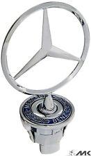 44mm Emblem Stern Motorhaube Logo für Mercedes-Benz W202 W203 W210 W211 W220