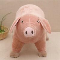 "10"" Plush Toy Piggy Pig Cartoon Accompany Sleeping Stuffed Animal Soft toys Gift"